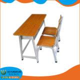 Price for School Furniture Wooden Double School Desk