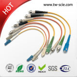 Sc-Sc Fiber Jumper Fiber Optic Patch Cord 1.5m