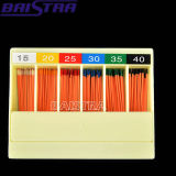 120PCS Color Coded Professional Dental Gutta Cutter Points