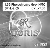 1.56 Photochromic Grey Hmc 70/65mm Optical Lens