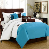 7PCS Made in China Elegant Embroidery Comforter Bedding Set