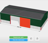 Standard Steel Structure New Type of Cheap Prefab Warehouse