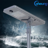 Factory Direct 20W Solar All in One Street Garden LED Light with Lithium Battery