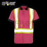 Orange or Lime Cheap Safety Work Shirts Hi Viz High Quality Button Down Shirts
