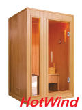 2 Person Finnish Sauna Steam Sauna Cabinet