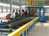Automatic Forming Less Deformation Steel Structure Horizontal H Beam Welding Production Machine