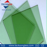 6mm French Green Tinted Float Glass with CE&ISO9001