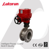 Explosion Proof Motorized Triple Eccentric Butterfly Valve