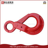 Qingdao Hardware G80 Alloy Steel Eye Safety Hook