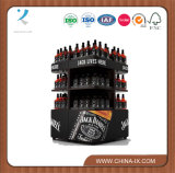Custom Design Metal Wine Stand Retail Store Wine Display Stand