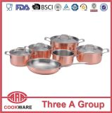 Triply Copper Cookware with Induction Bottom Wholesale Cookware