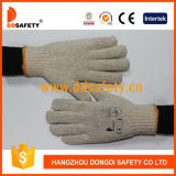 Ddsafety Hot Sale Wholesale Natural Knitted Cotton Work Gloves Ce En388 1010