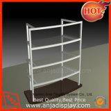 Portable Wholesale Wooden/Wood Walnut Garment Display Shelf for Shop