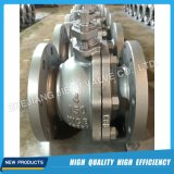"API6d 150lb 4"" 2PC Wcb Lever Ball Valve"
