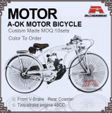 48cc Engine Bike 280PCS Spoke Gas Moror Bicycle (MB-18-3)