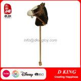 Plush Stick Toy Horses Wooden Hobby Horse for Children