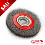 Metal Steel Wire Wheel Brushes Without Nut