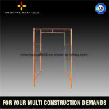 Metal Climbing Mobile Ladder System Scaffolding Frame