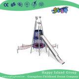Outdoor New Design Trampoline Combination Playground with Slide (HHK-7901)