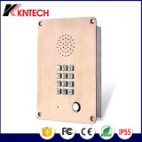 Emergency Telephone Knzd-06 Kntech Elevator Intercom Stainless Steel Rust Proof Phone