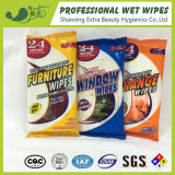 Soft Household Wet Tissues Cleaning Wet Furniture Wipes