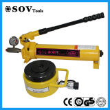 High Quality 500ton Pancake Lock Nut Jack Single Acting (SOV-CLP)
