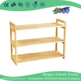Kindergarten Toddlers Wooden Partition Shelf (HG-4203)