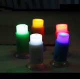 Push Sucker Suction Cup One Touch Nightlight Mini LED Pin Light Romantic Bar Light Best LED Toy for Kids Gifts