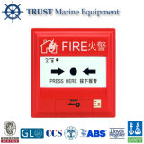Conventional Fire Alarm System Break Glass Manual Call Point Push Button