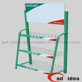 Lubricating Oil Flooring Display Rack/Exhibition Stand