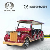 Ce Approved Aluminum Chassis Low Speed 8 Seater Tourist Sightseeing Car