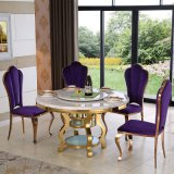 Best Selling Modern Furniture Glass Dining Table and Chairs Sets with High Quality