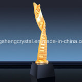 2018 Home Crafts Crystal Note Resin Trophy