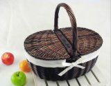 (BC-ST1087) High Quality Handmade Willow Pinic Basket with Eco-Friendly
