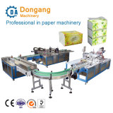 Full Automatic Facial Tissue Paper Hot Sealing Packing Production Line