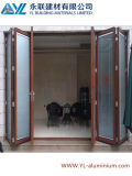 Aluminum Profile for Folding Door with Laminated Glass