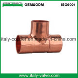 ISO9001 Certified Copper Equal Tee (AV8010)
