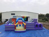 PVC Commercial Inflatables Jumping Castle Price Giant Theme Park