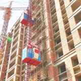 Construction Elevator Materials Lift Passenger Hoist for Saudi Arabia UAE Qatar