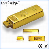 Gold Bar Design USB Memory Pen Drive (XH-USB-125)