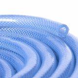 Clear Plastic Vinyl Tubing Fiber Braided Reinforced PVC Tube Pipe Hose for Water Transfer