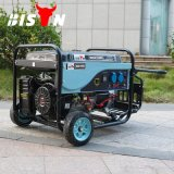 Bison (China) BS4500p (H) 3kw 3kVA Electric Start with Battery Easy Move with Wheels Cam Professional Gasoline Generator
