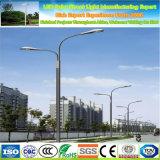 Single/Double Arm 12m 10m 8m 6m Galvanized Cast Aluminum Solar Street Light Pole