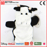 Stuffed Animal Cow Toy Hand Puppet for Kids/Children