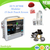Sun-M700k 15 Inch Touch Screen Modular Patient Monitor for Hospital