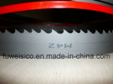 Excellent Quality 34 X 1.1mm 2/3tpi M42 Bimetal Band Saw Blade for Alloy Steel Bar Cutting.