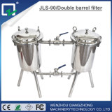 Food Sanitary Stainless Steel Dairy Beer Filter, Precision Duplex Filter