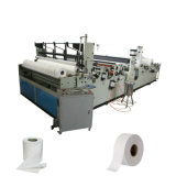 Automatic Rewinding Maxi Roll Small Toilet Tissue Paper Machine