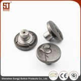 Loop Decorative Design Magnetic Metal Button