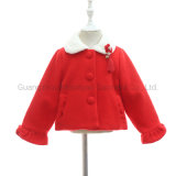 Best Winter Short Baby Girl Warm Coat Jacket with Chinese Tassel for Cute Kid Apparel